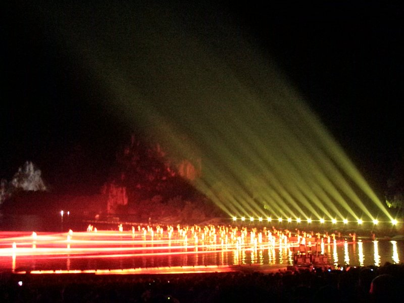 Light show - Lui San Jie