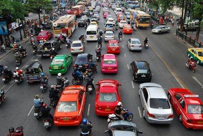 Stromend Bangkok