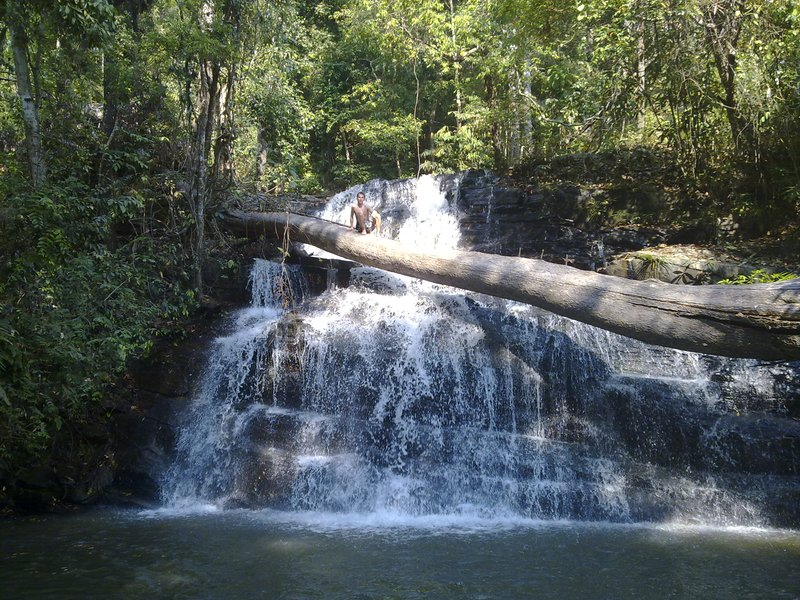 Gewoon een klein watervalletje