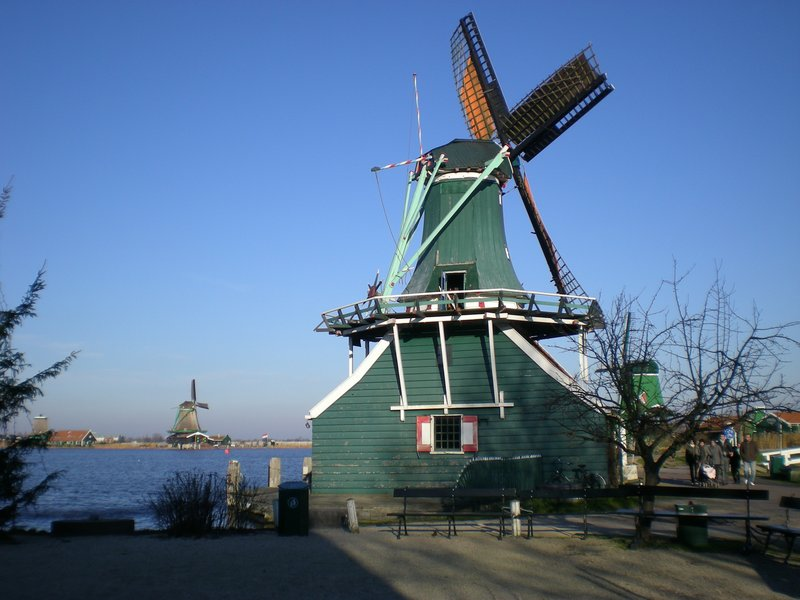 Windmill in Zanse Schans