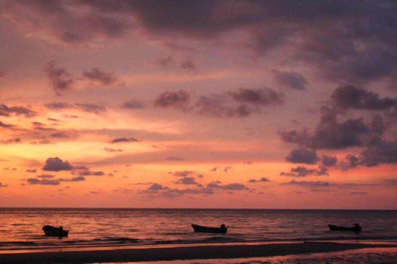 Sunset at White Sand Beach, Koh Chang