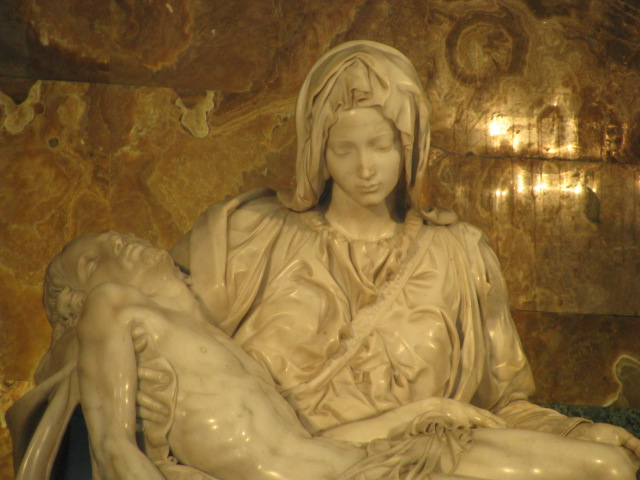 Michelangelo's Mary & Jesus