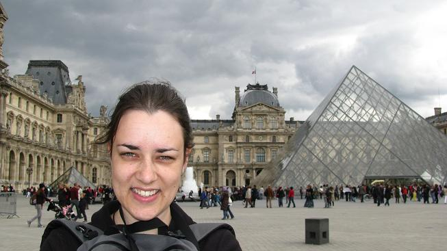 Me Outside The Louvre