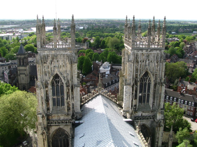 Tower View Of The York Minster