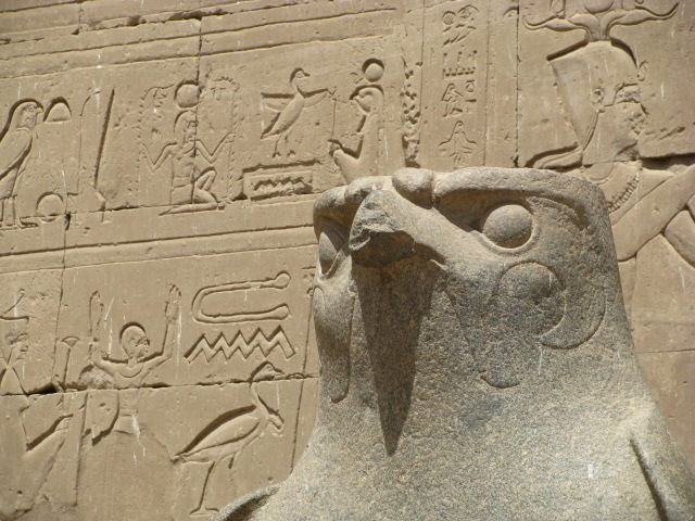 Horus at Edfu Temple