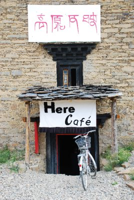 Here Cafe in Daocheng