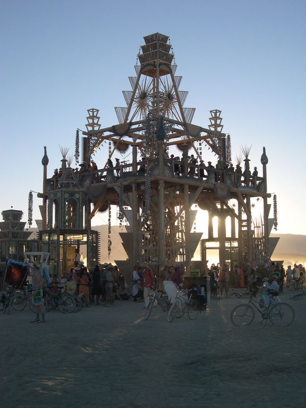 Burning Man 2008 - The Temple