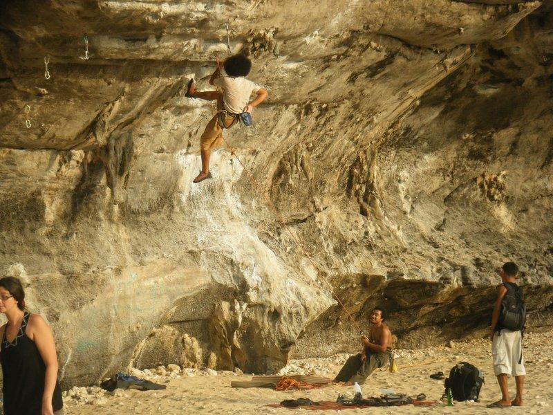 Tar climbing