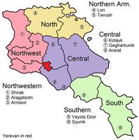 Armenia_tourist_regions
