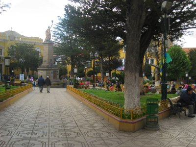 The main plaza