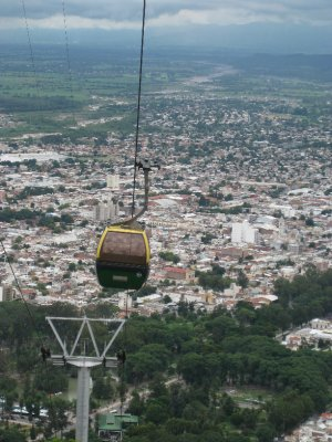 Cable car to the Mirador