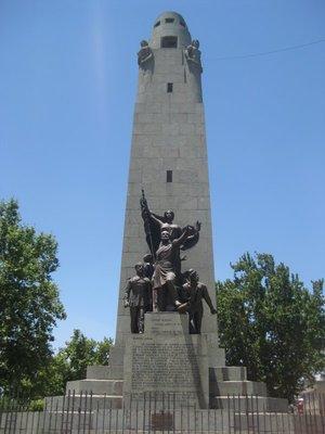 Obelisk near market