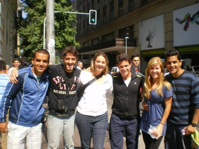 Seeing the sites in Santiago