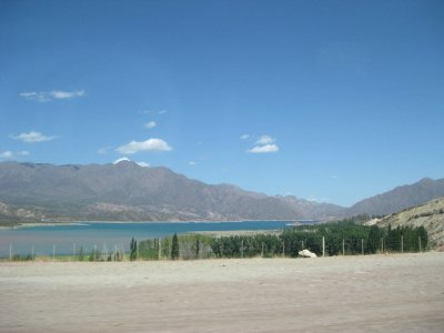 View on way to rafting