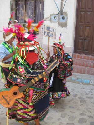Pujllay fiesta in Tarabuco - only once a year (good timing eh!)