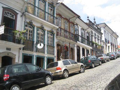 The Streets of Ouro Preto