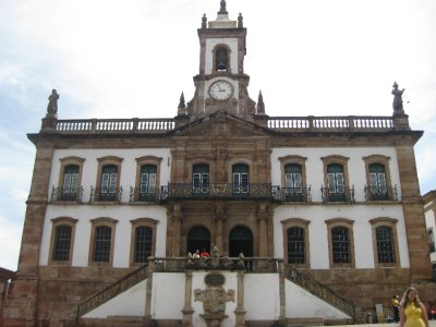 Museu de Inconfidencia - on the main square
