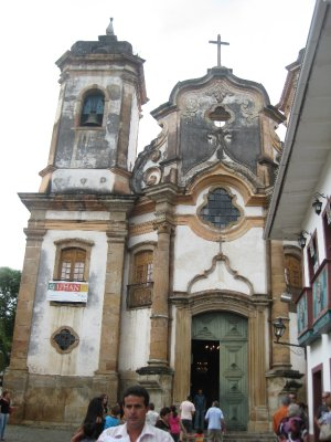 The Second most opulent church in Brasil