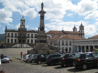 Ouro Preto's Main Square