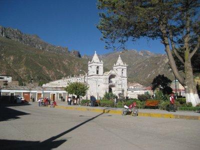 Plaza de Armas, Chivay