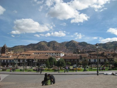 View from Plaza de Armas