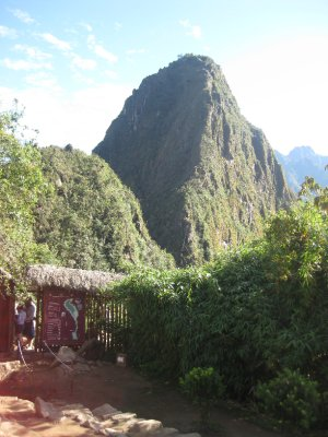 Wayna Picchu walk entrance