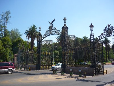Gates to the HUGE park