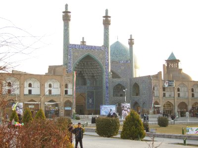 178 Iran Isfahan - the  mosque at immam square