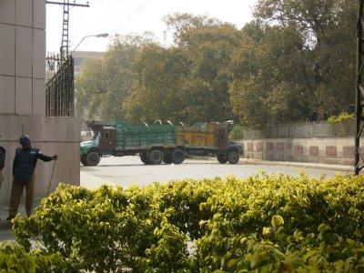 307 Pakistan Lahore - blockades