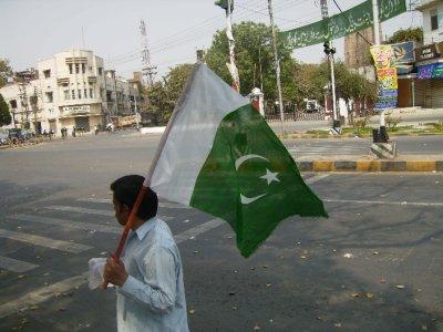 309 Pakistan Lahore - Flag
