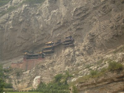 609 China Datong - The Hanging Monastery