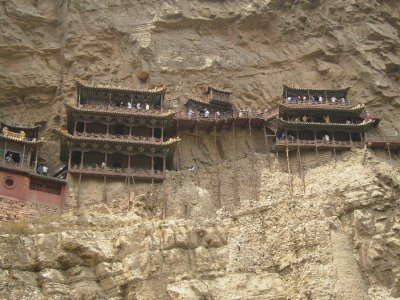 611 China Datong -  The Hanging Monastery