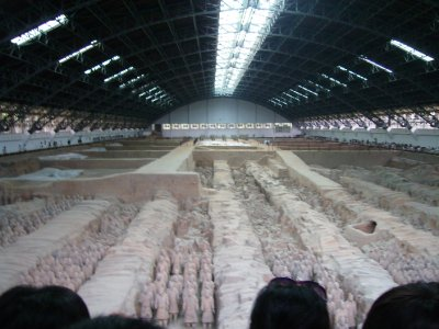 657 China Xian - Terracotta army tomb 1