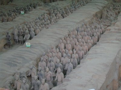 658 China Xian - Terracotta army tomb 3