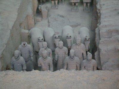 661 China Xian - Terracotta army tomb 1