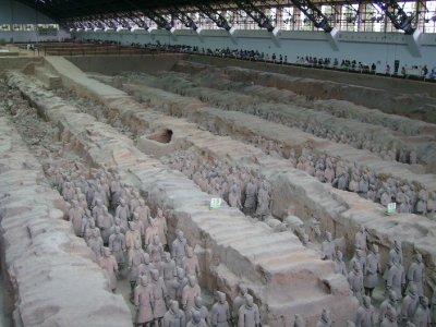 662 China Xian - Terracotta army