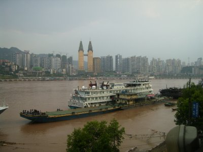804 China Chongqing - Yangtze river