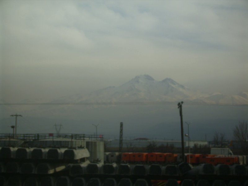 134 To Tehran - a mountan