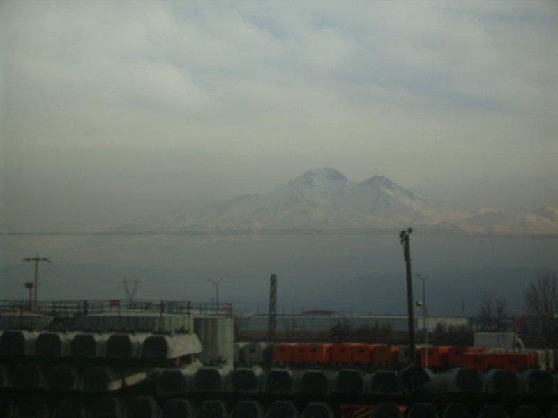 134 To Tehran - a mountan