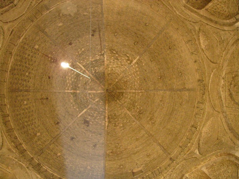 154 Iran Isfahan - The roof in one of the main alters at Hakim Mosque