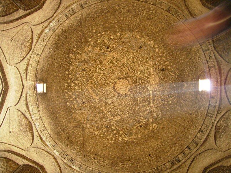 168 Iran Isfahan - the main roof at Hakim mosque