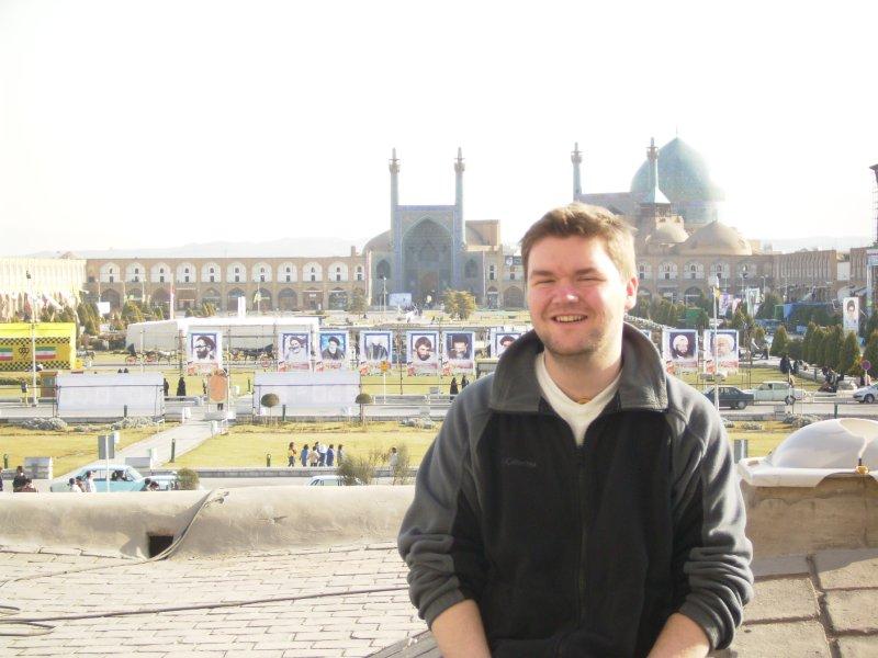 175 Iran Isfahan - Me at immam square