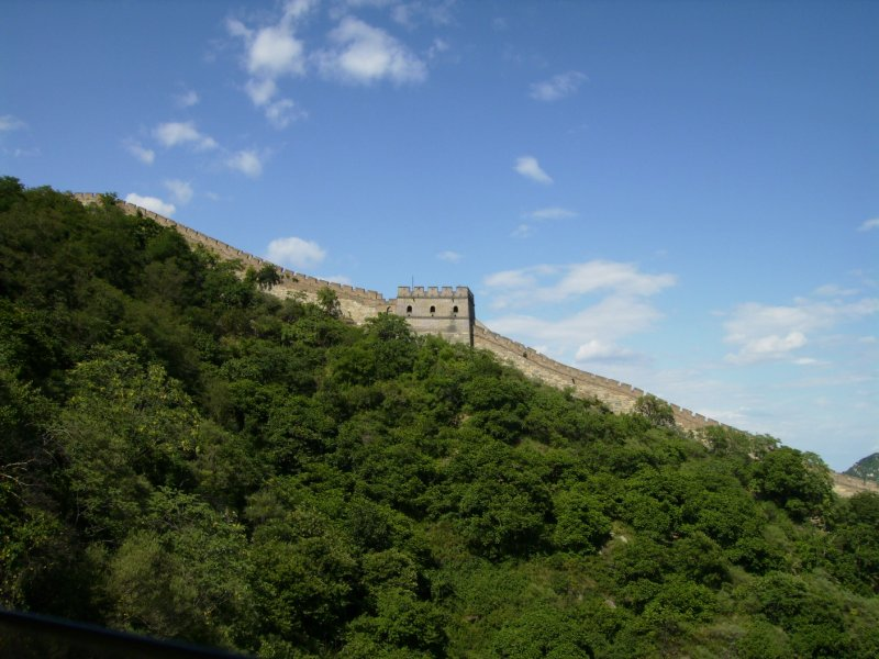 594 China Beijing - view of th great wall