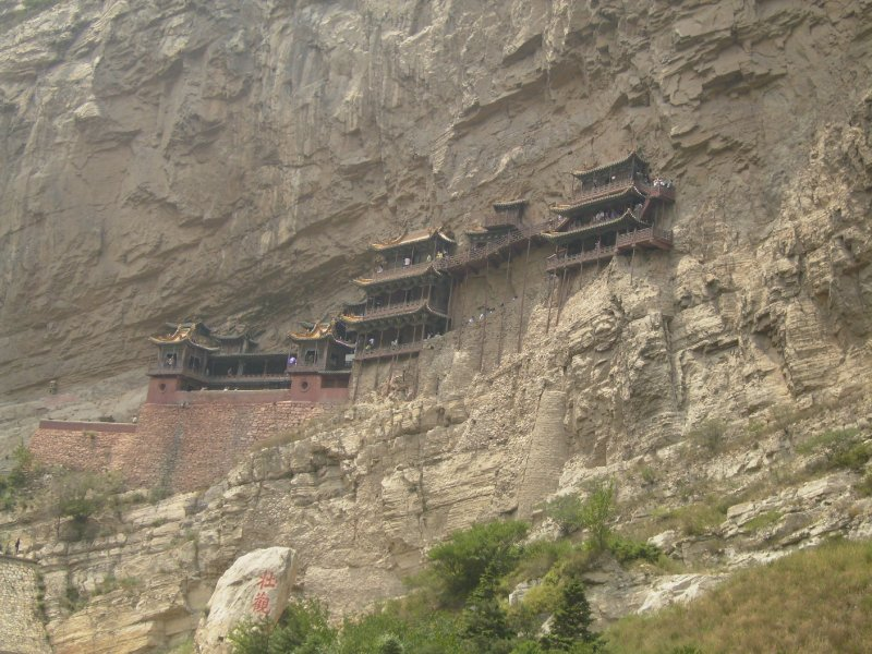 610 China Datong - The Hanging Monastery