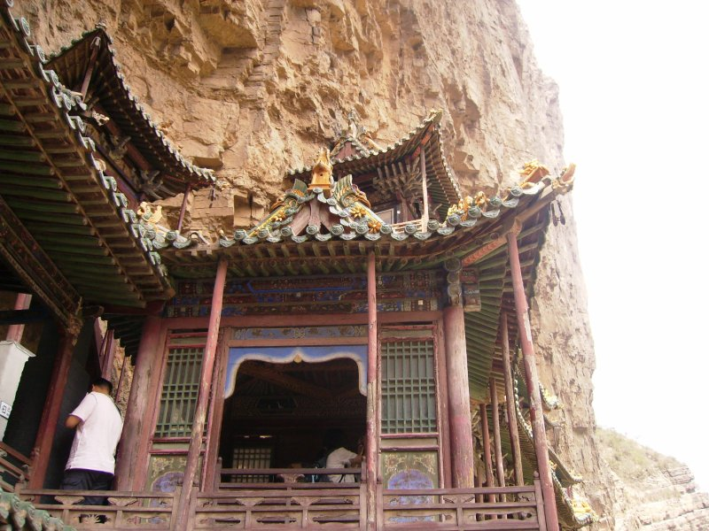 614 China Datong - The Hanging Monastery
