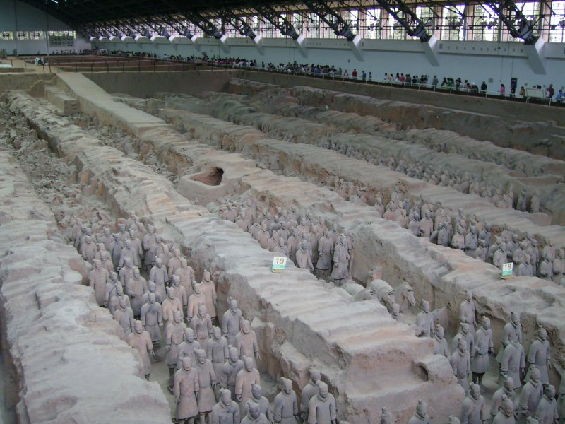 662 China Xian - Terracotta army