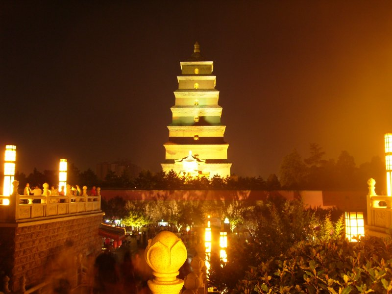 666 China Xian - The big goose pagoda