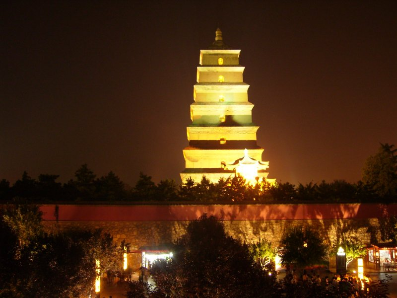 667 China Xian - The big goose pagoda