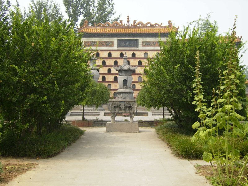 693 China Luoyang - White horse temple