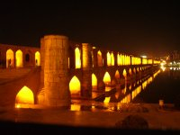 143 Iran Isfahan - Bridge